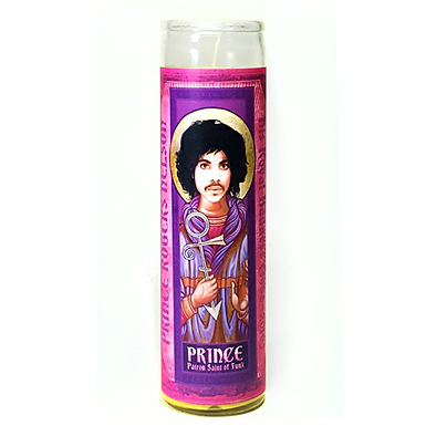 Pop Saints Prince Candle