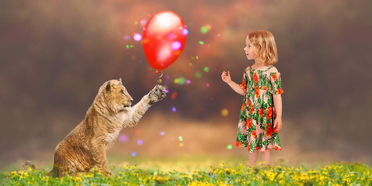 Tiger with balloon celebration-final - 4
