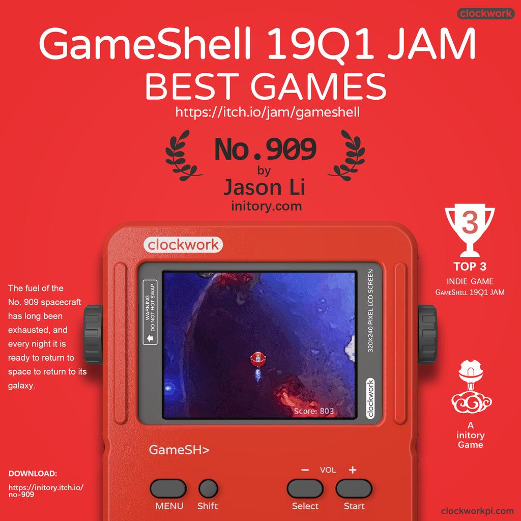GameShell | ClockworkPi GameShell