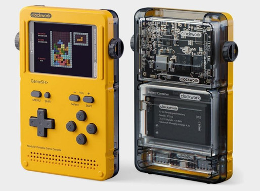 Games Radar: GameShell is a modern Game Boy you put together yourself