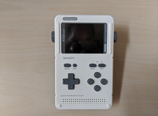 Geek Tyrant: My Thoughts on the GameShell from Clockwork