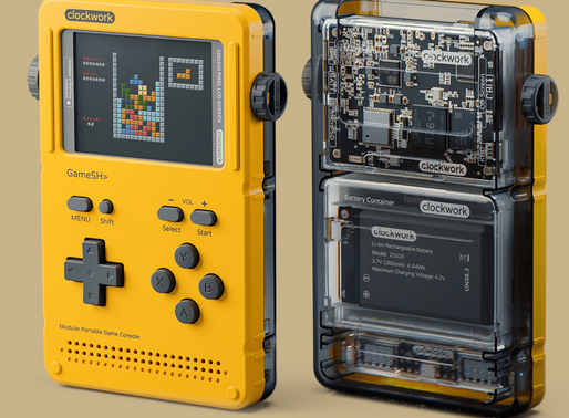 Boing Boing: GameShell: hackable portable game console for indie devs and retrogame fans