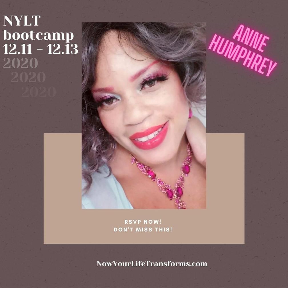 #NYLT (virtual) Bootcamp in December 2020