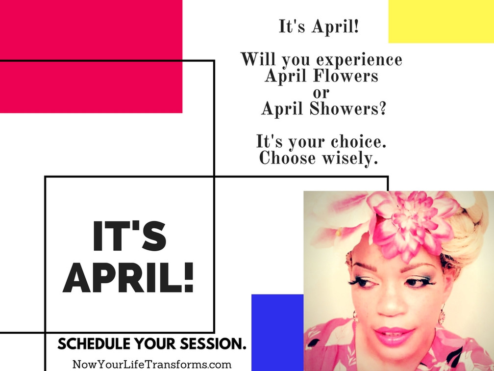 It's April! #AprilFlowers or #AprilShowers?