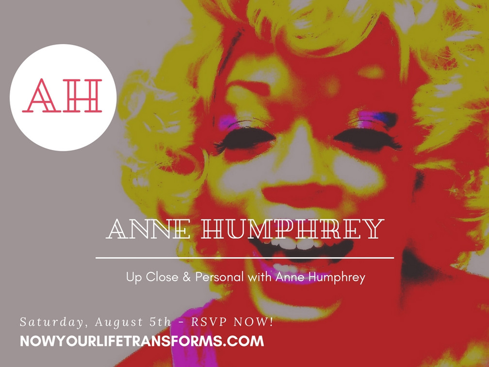 Up Close & Personal with Anne Humphrey