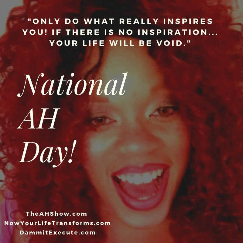 National AH Day!