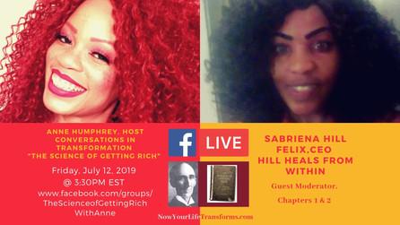 Sabriena Hill Felix, Guest Moderator