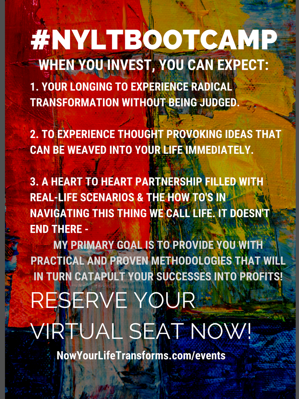 #NYLTBootcamp - The Virtual Experience in December 2020