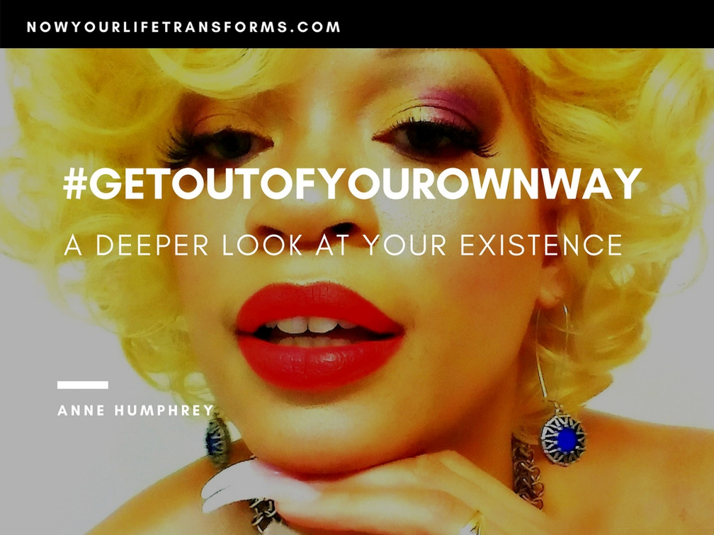 It's 4th Quarter! Learn how to #GetOutOfYourOwnWay for a thrilling New Year!