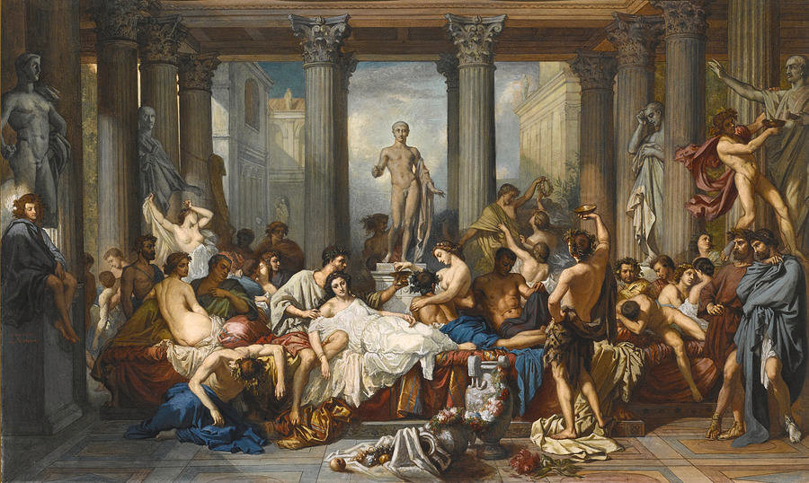 the-romans-during-the-decadence-after-th
