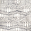 Thumbnail: Grey Gothic Design Silk Scarf