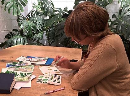 Kate Piekutowski in Spain artist residency