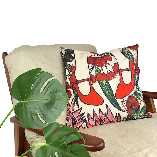 'Red Shoes' Cushion