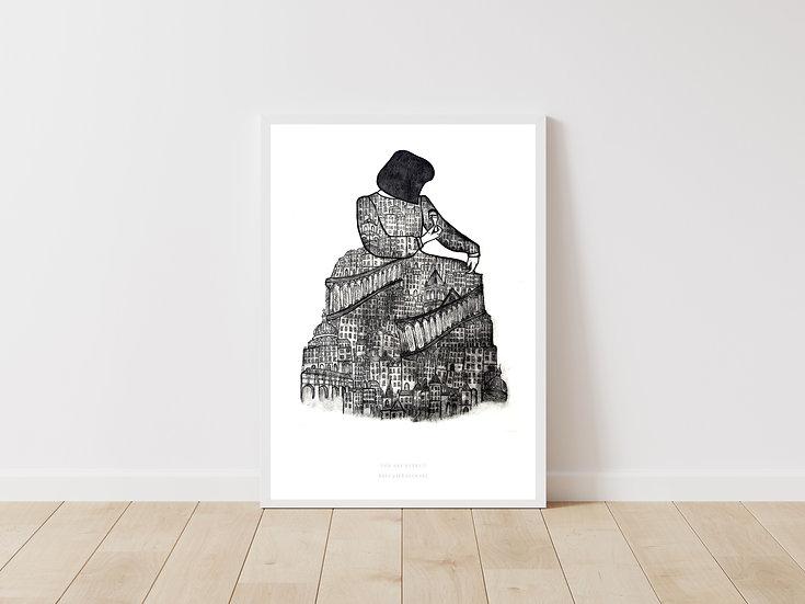 The Architect Giclée Print