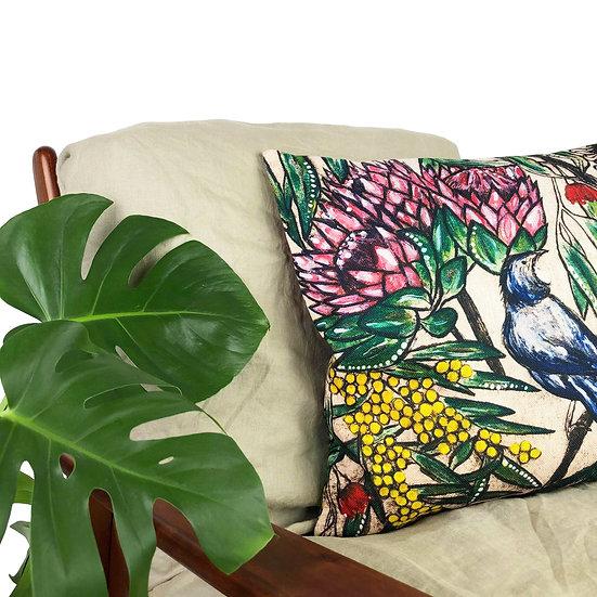 'Botanical' Design Cushion