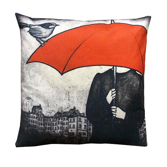 'Fairy Wren' Design Cushion