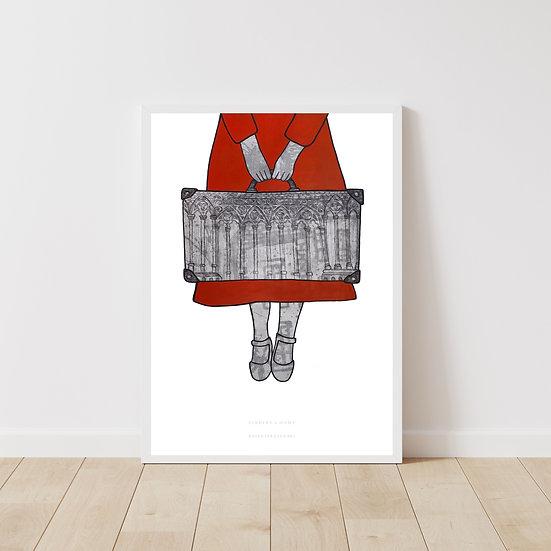 Finding a Home Giclée Print