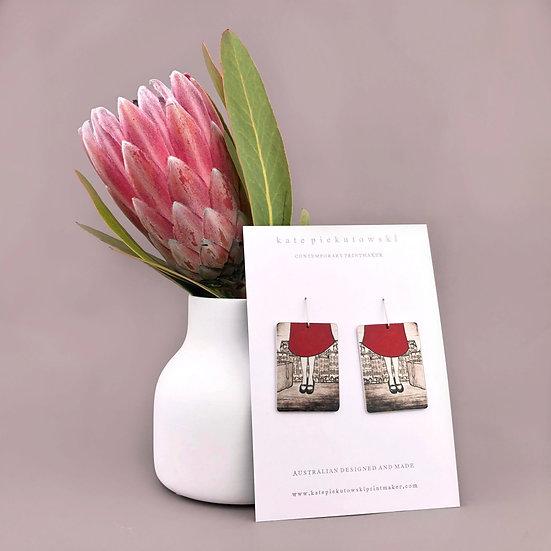'Travel' Design Earrings