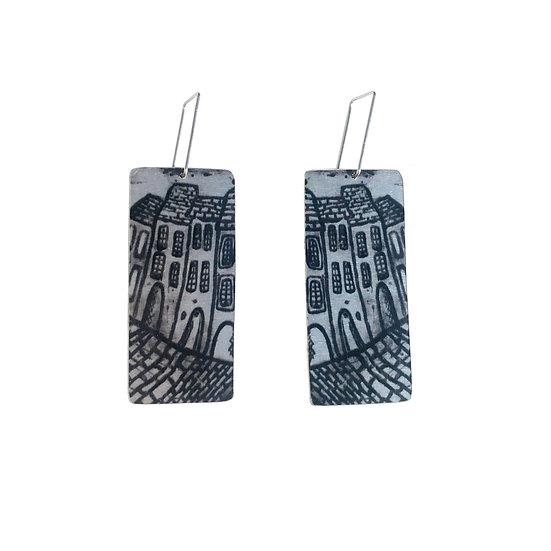 'City Streets' Design Earrings