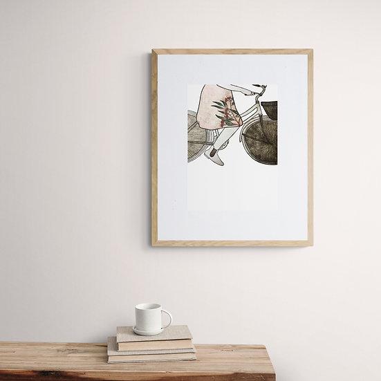 Embracing Home Giclée Print