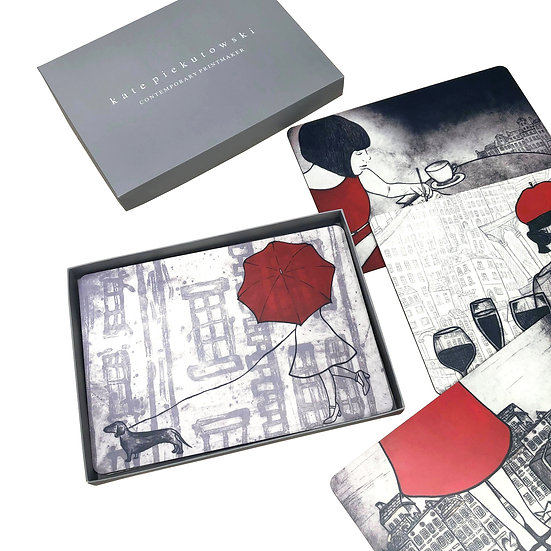Travelling Design - Placemat Set of 6