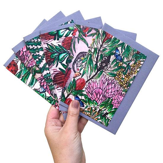 Australiana Botanica Gift Card Set of6