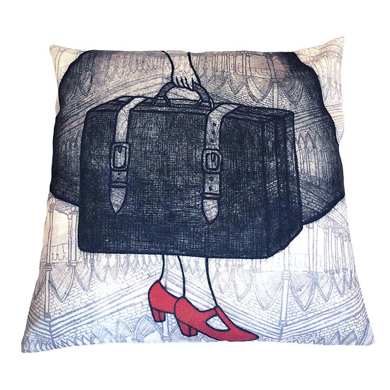 'Between Places' Design Cushion