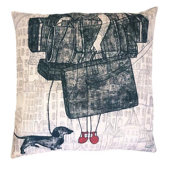 'An Artist's Burden' Design Cushion