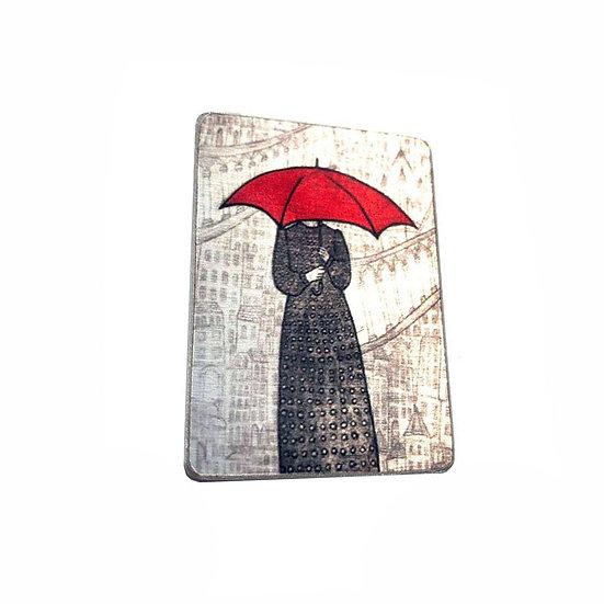 Polka Dots In The Rain Brooch
