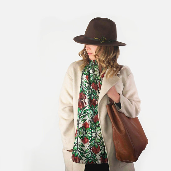 'Banksia' Wool Scarf