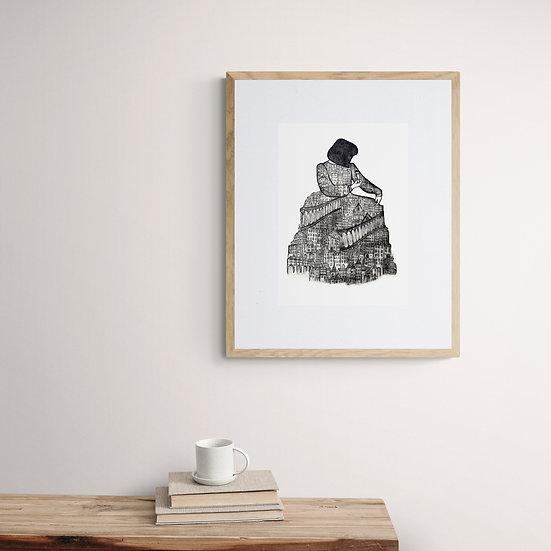 'The Architect' Giclée Print