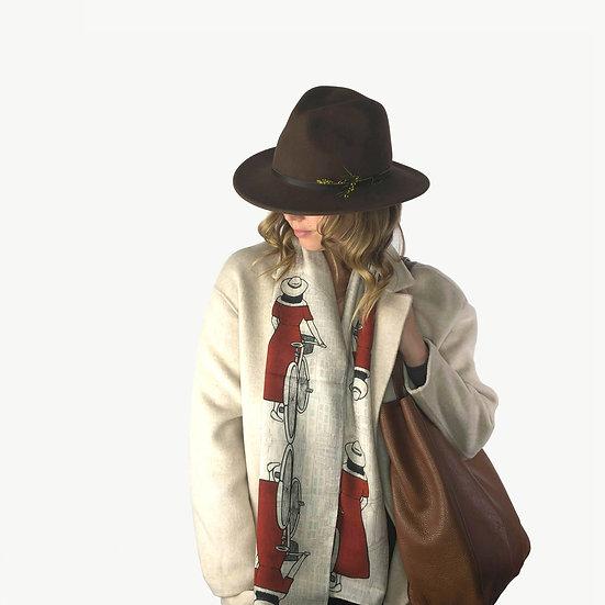 'Parisienne' Wool Scarf