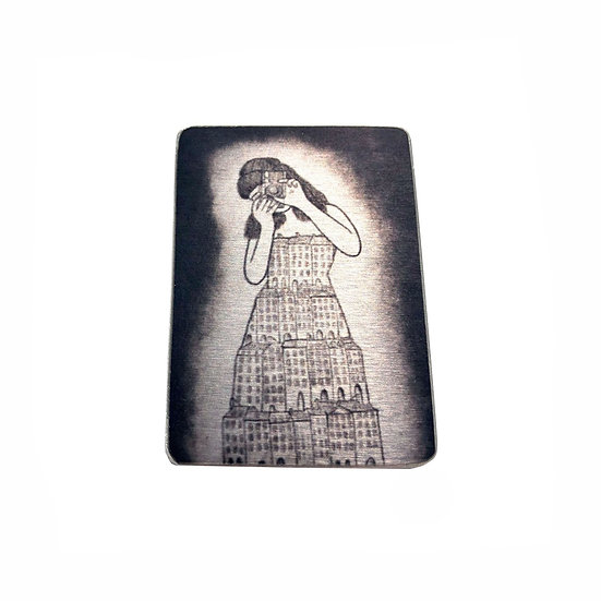 I'll Remember You in My Dreams Brooch