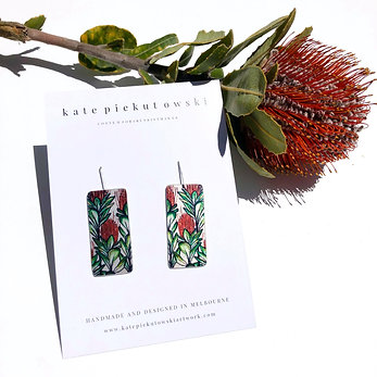 'Banksia' Design Earrings