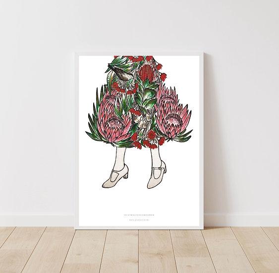 'Australiana Dreamer' Giclee Print