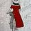 Thumbnail: Black, White, Red Design Gift Card Set of 6