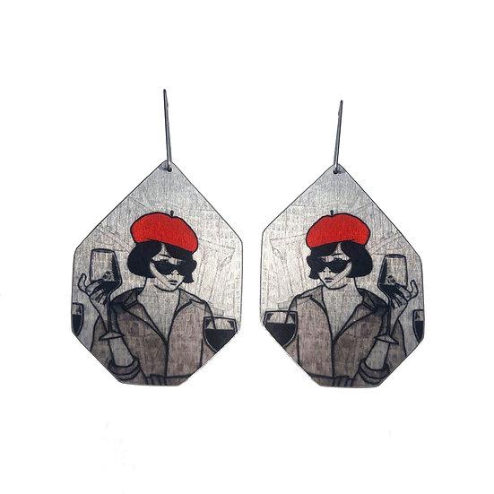 'Sassy Lady' Design Earrings