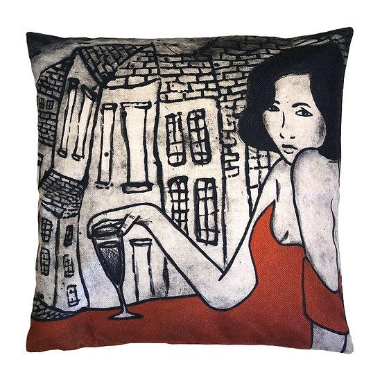'Sassy Lady' Design Cushion