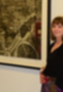 Image of me from gallery opening