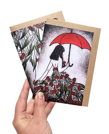 Australiana Design Gift Card Set of 6