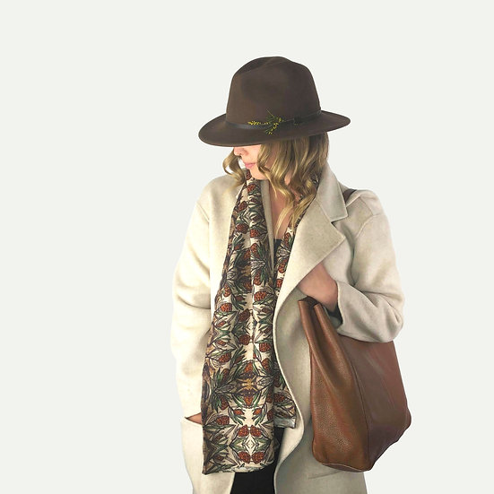 'Protea' Wool Scarf
