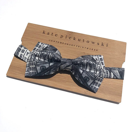 Architecture Silk Bow Tie