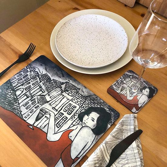 Parisienne Design - Placemats set of 6