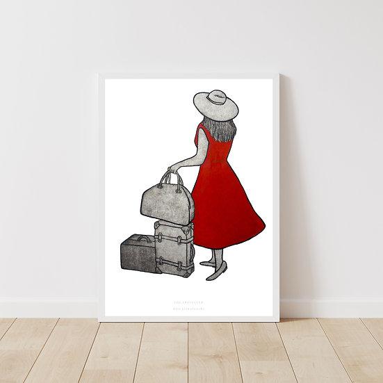 The Traveller Giclée Print