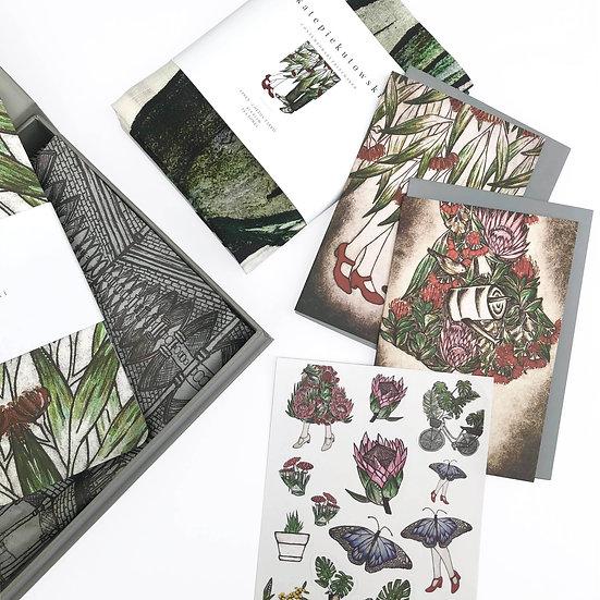 Botanical Tea Towel Gift Set