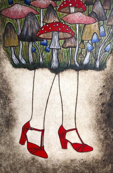 The Magic Mushroom Lady