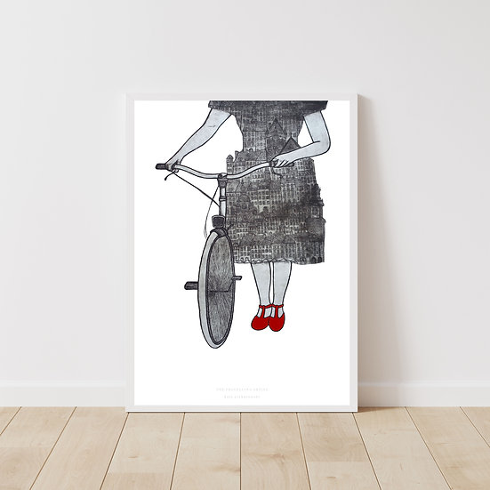 The Travelling Artist Giclée Print