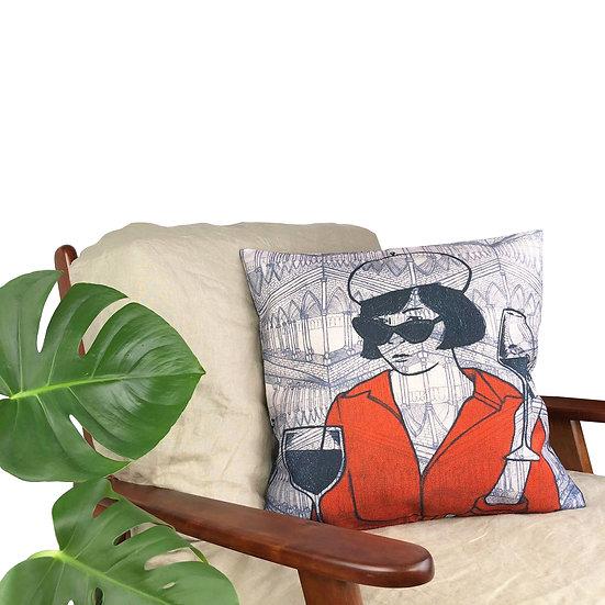 'Parisienne Facade' Cushion