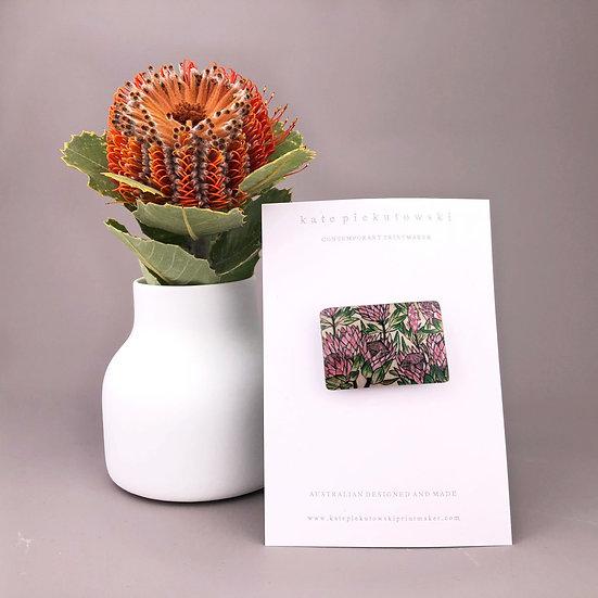 'Protea' Brooch