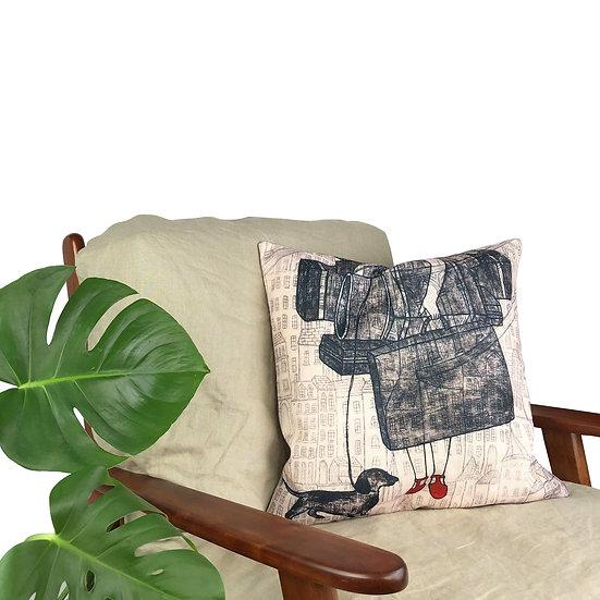 'An Artist's Burden' Cushion